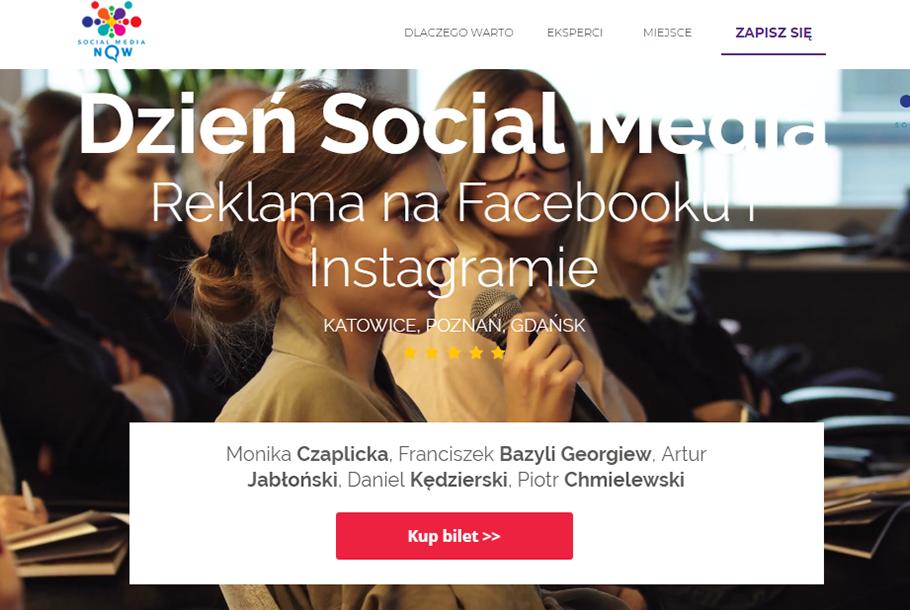 Wydarzenie Dzień Social Media