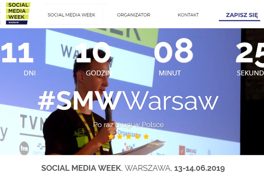Wydarzenie Social Media Week