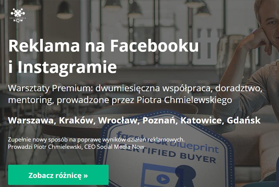 Szkolenie Warsztaty premium prowadzący Piotr Chmielewski