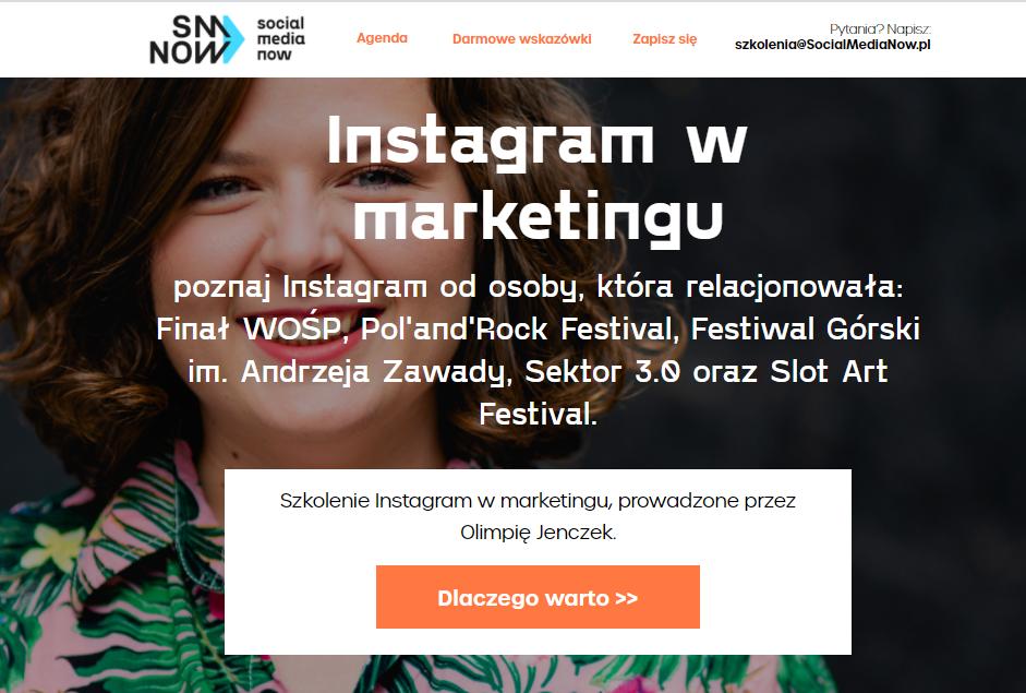 Instagram w marketingu
